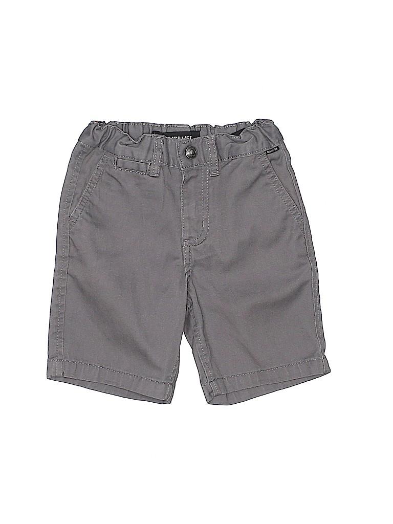 Quiksilver Boys Khaki Shorts Size 2T