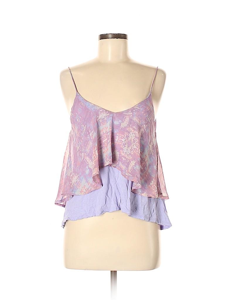 Sparkle & Fade Women Sleeveless Blouse Size M