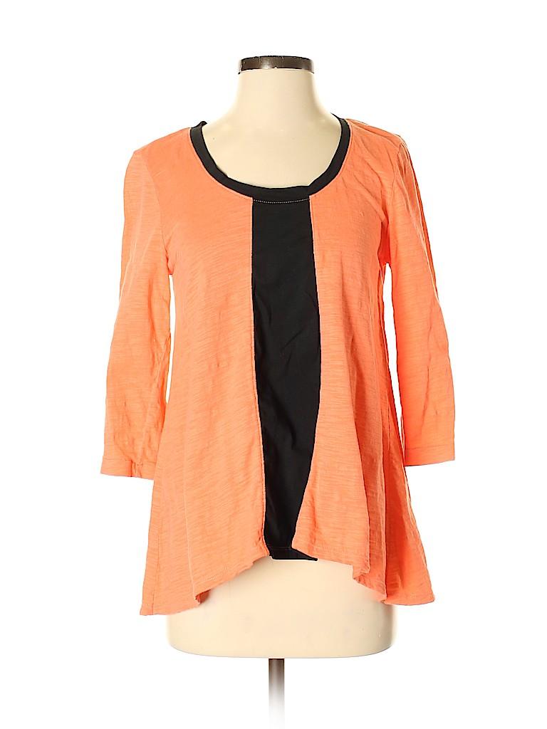 Neon Buddha Women 3/4 Sleeve T-Shirt Size S
