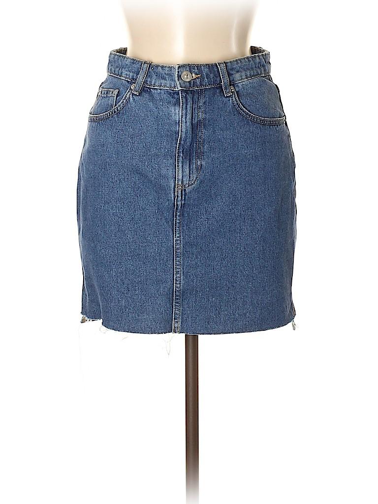 H&M Women Denim Skirt Size 6