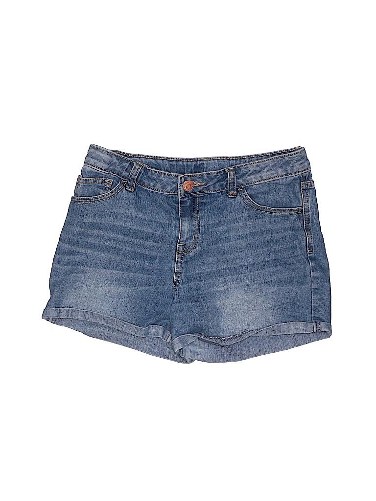 Cherokee Girls Denim Shorts Size X-Large (Kids)
