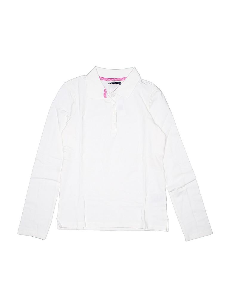 Gap Kids Girls Long Sleeve Polo Size 8 - 14