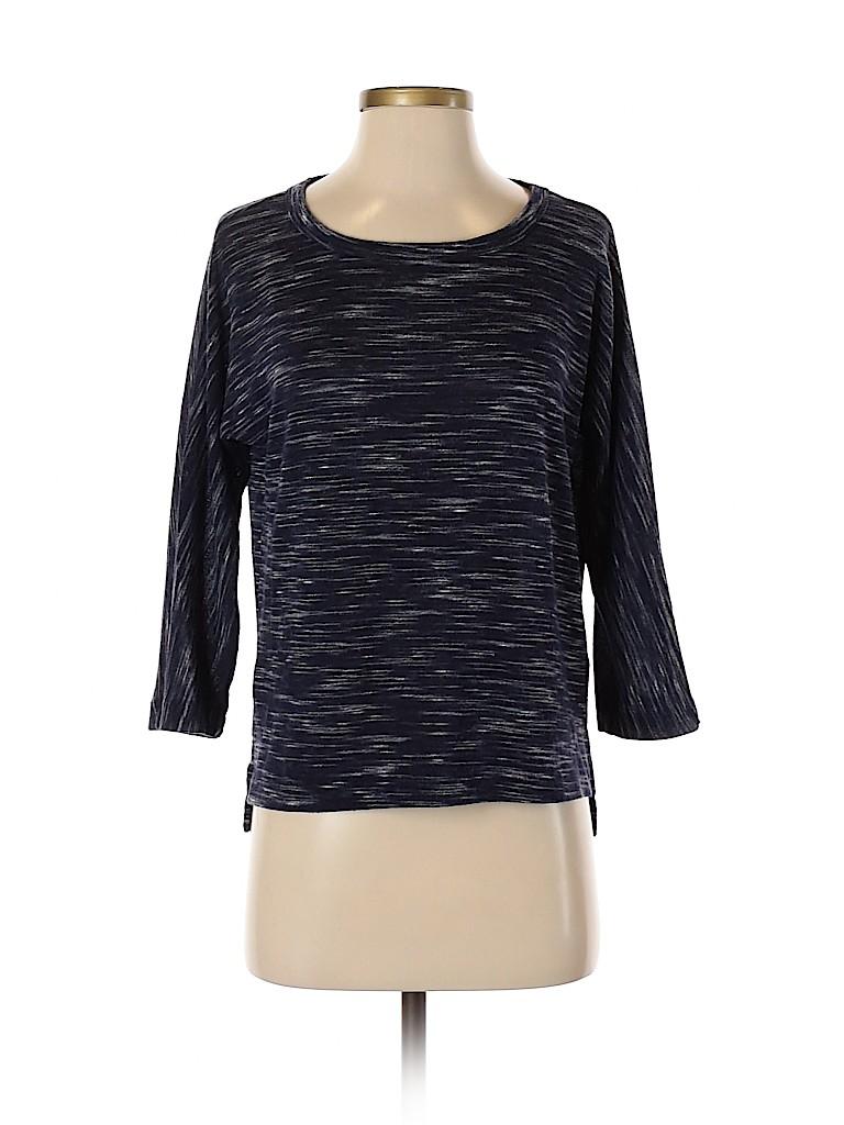 Joe Fresh Women 3/4 Sleeve T-Shirt Size S