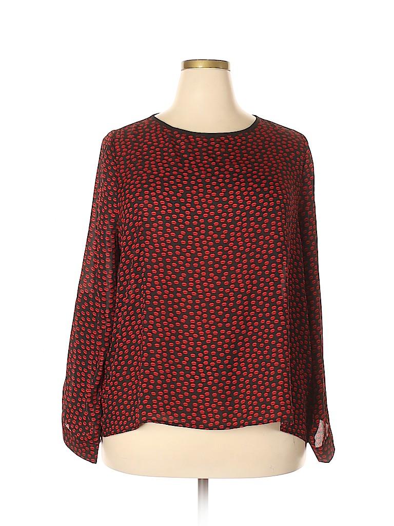 Katia Women Long Sleeve Blouse Size 3X (Plus)