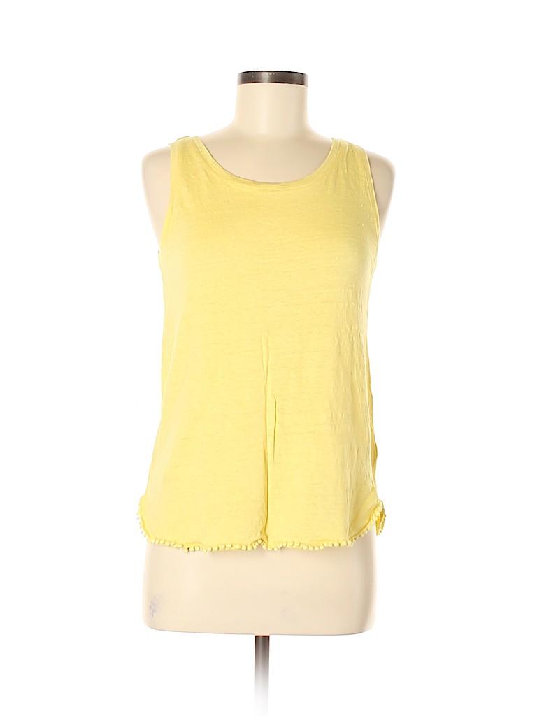 St. Tropez West Women Sleeveless Top Size M