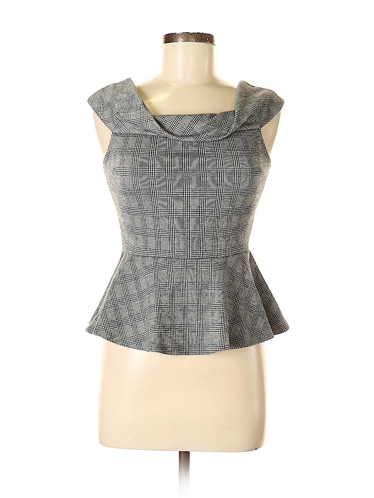 Charlotte Russe Women Short Sleeve Blouse Size M