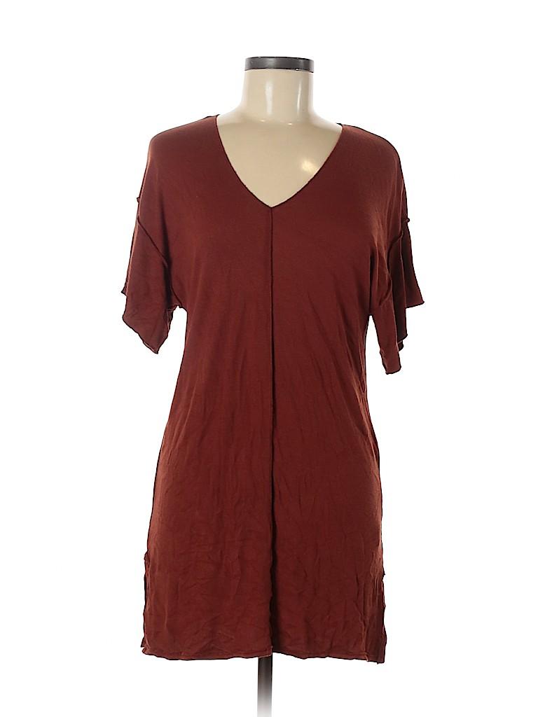 Bordeaux Women Short Sleeve Top Size M