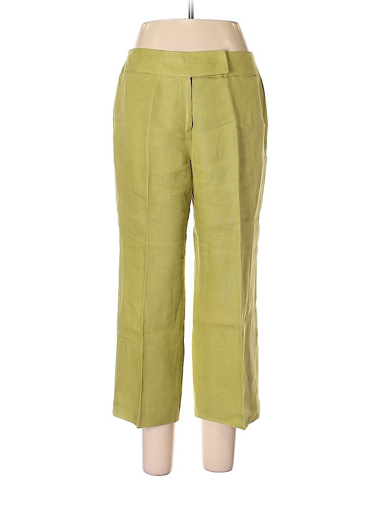 Talbots Women Linen Pants Size 12
