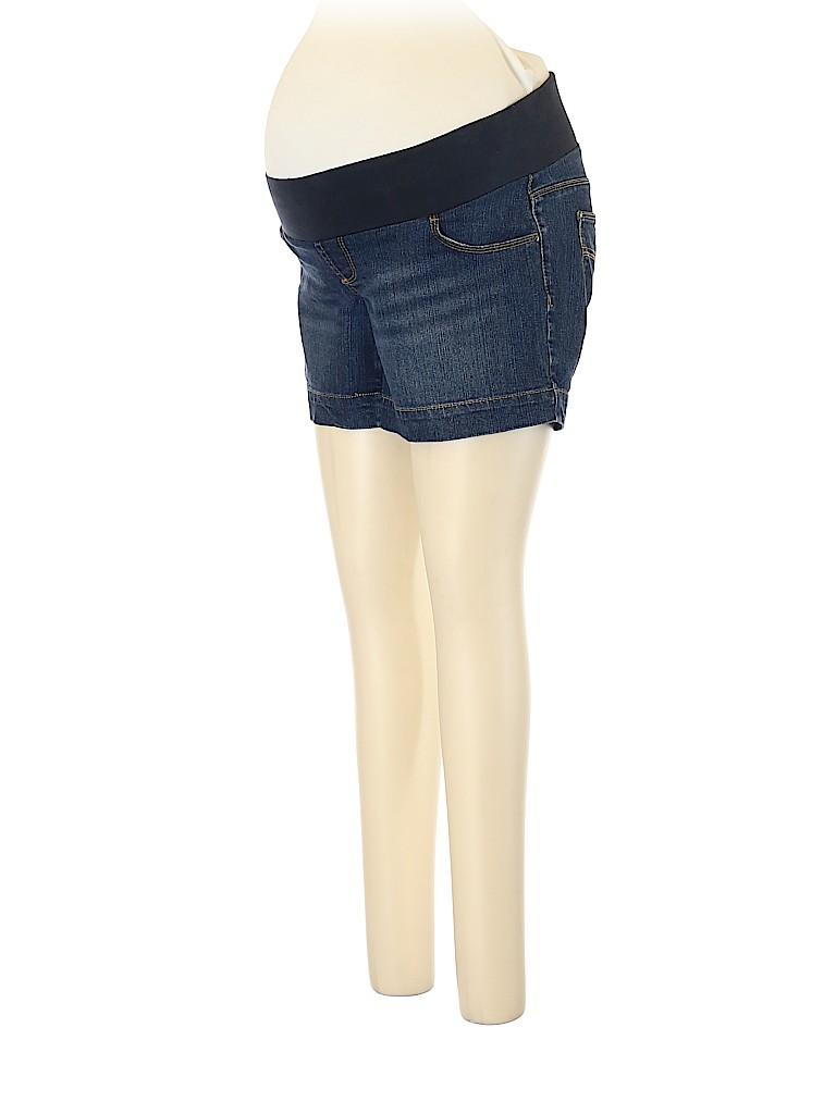 Motherhood Women Denim Shorts Size M (Maternity)