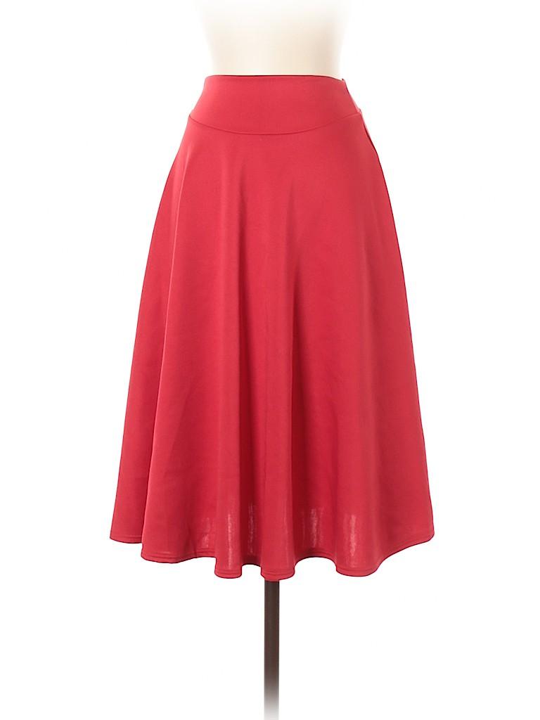 Doublju Women Casual Skirt Size S