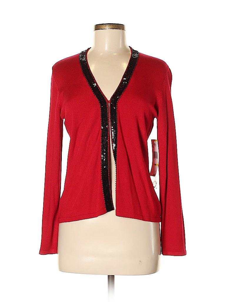 Jones New York Women Cardigan Size M (Petite)