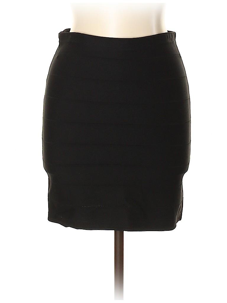 Aqua Women Casual Skirt Size L