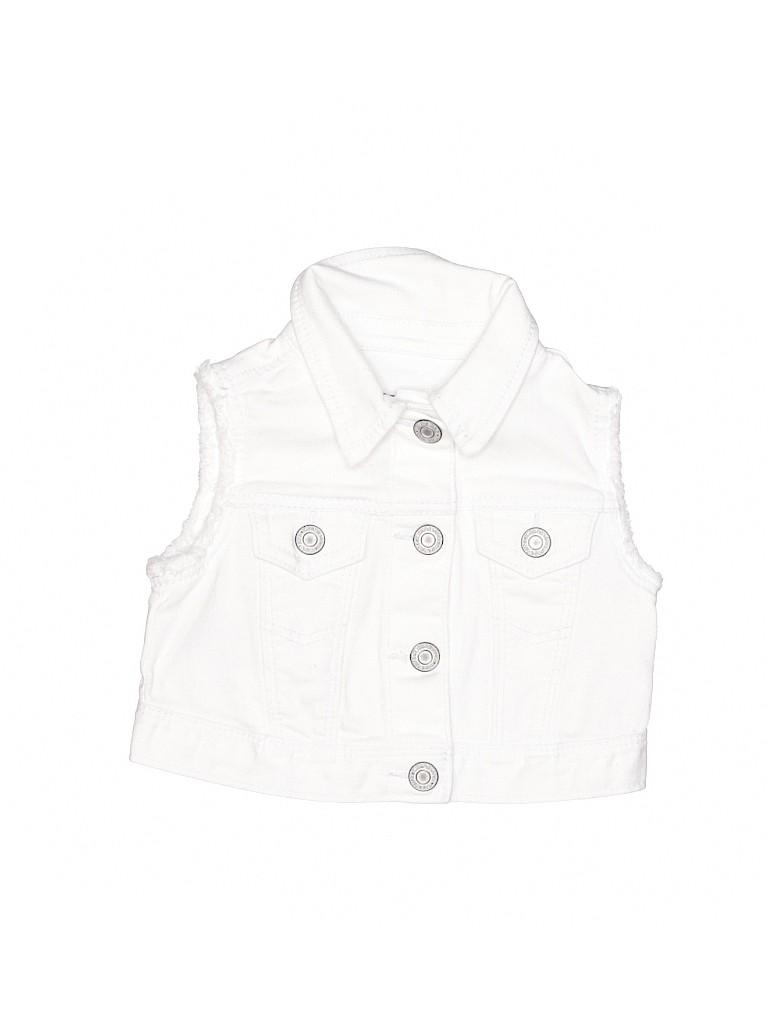 Baby Gap Girls Denim Vest Size 12-18 mo