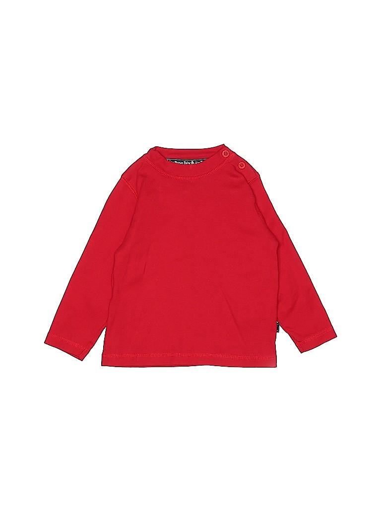 JoJo Maman Bebe Boys Long Sleeve T-Shirt Size 18-24 mo
