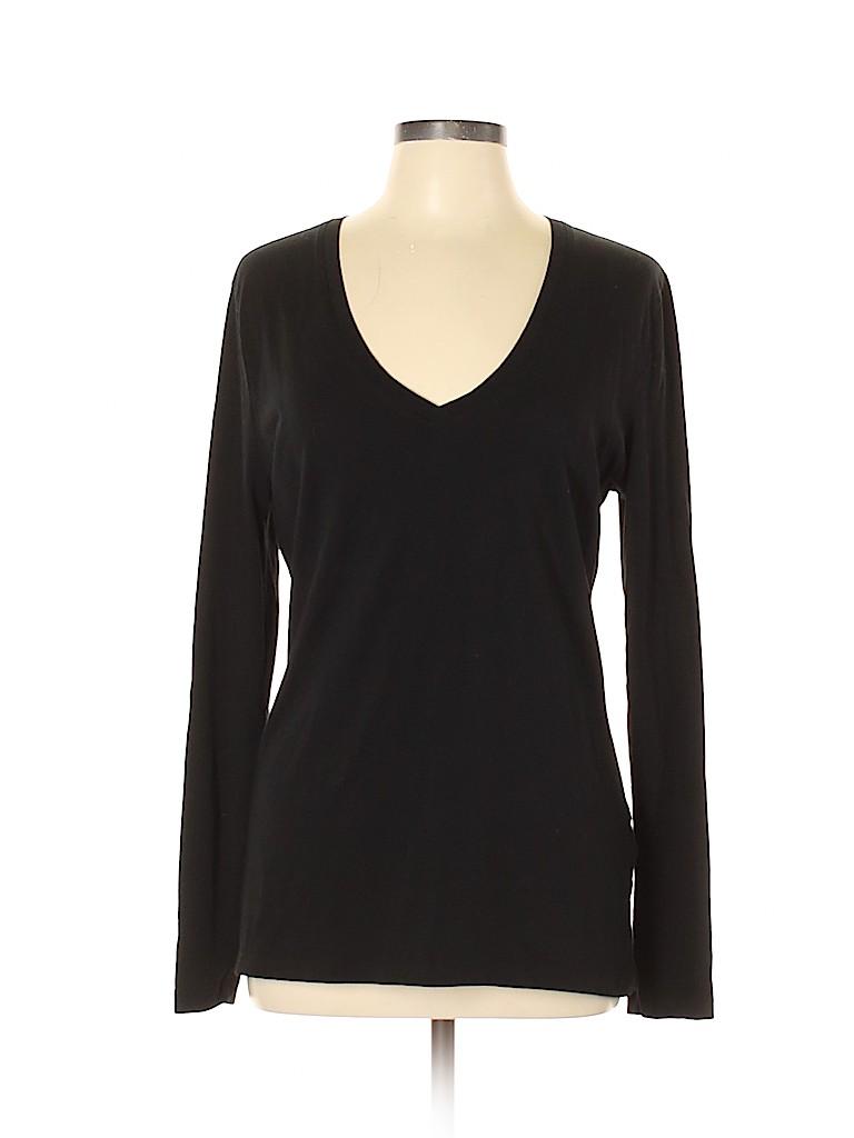 Banana Republic Factory Store Women Long Sleeve T-Shirt Size L