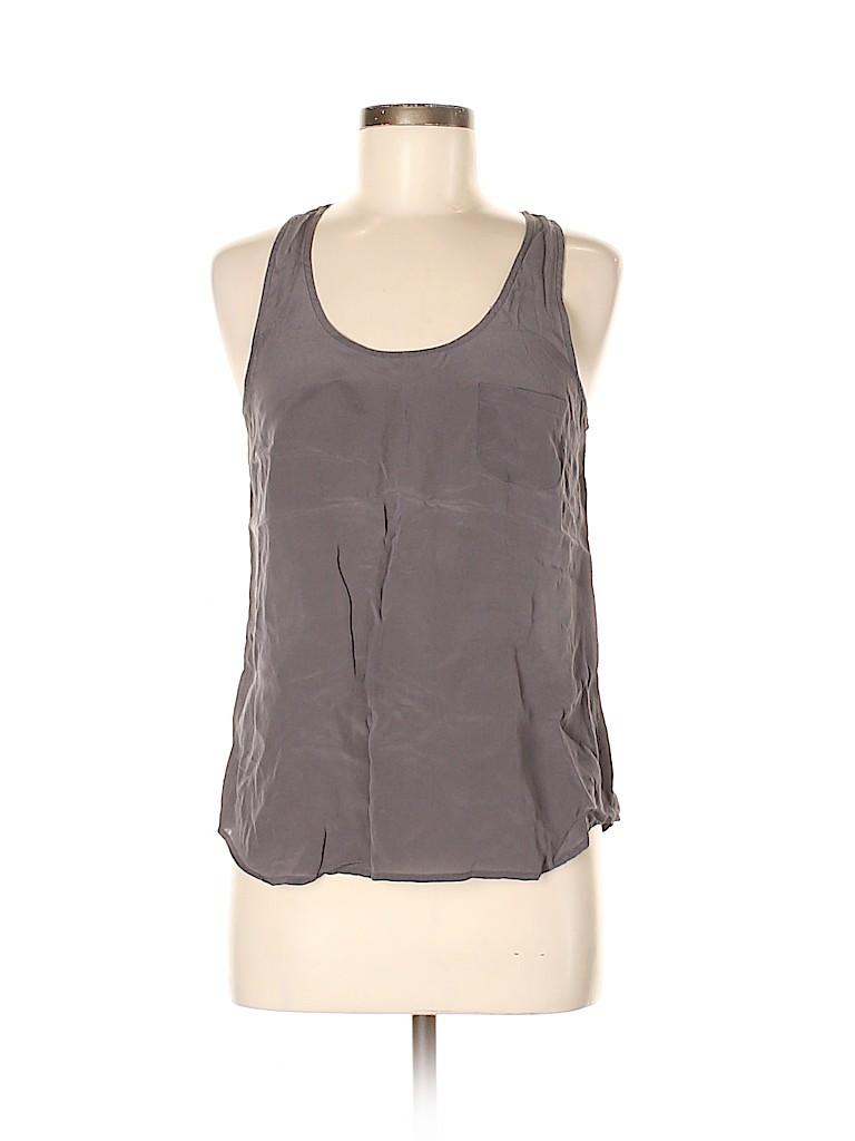 Fei Women Sleeveless Silk Top Size 6
