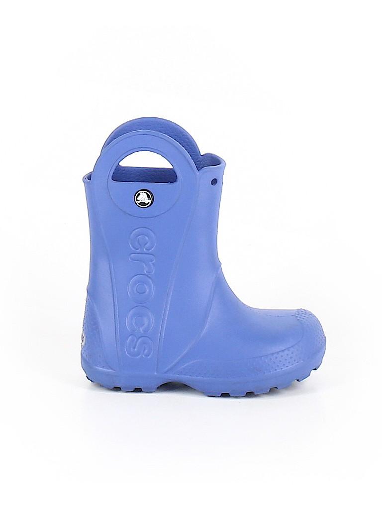 Crocs Girls Rain Boots Size 10
