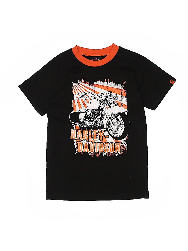 Harley Davidson Boys Short Sleeve T-Shirt Size 12 - 14