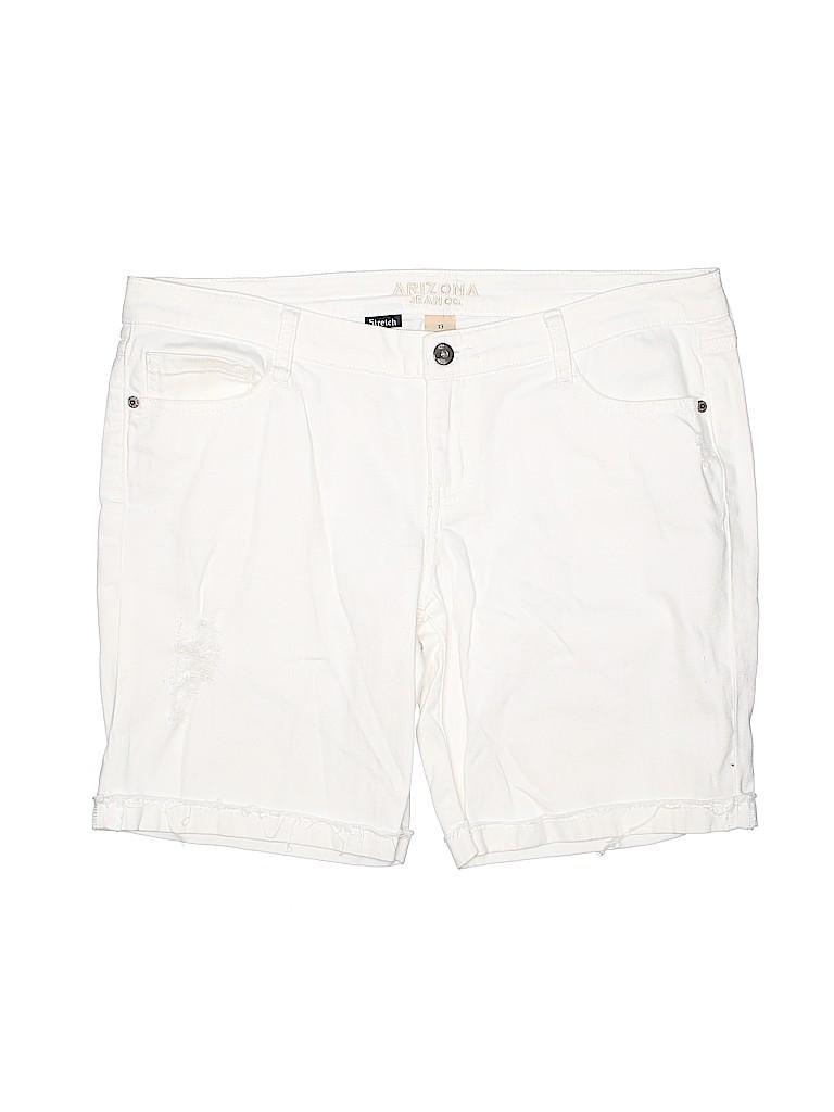 Arizona Jean Company Women Denim Shorts Size 13