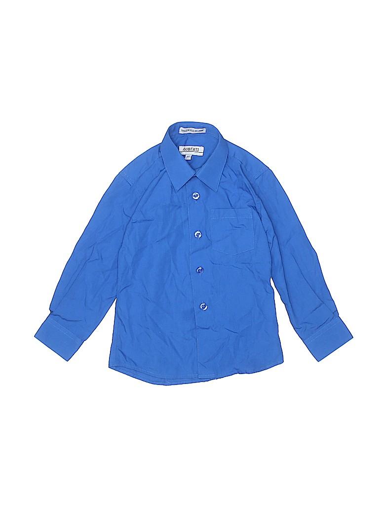 Gioberti Boys Long Sleeve Button-Down Shirt Size 3T