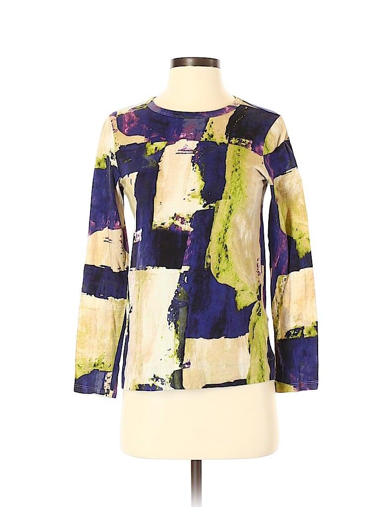 Simply Vera Vera Wang Women Long Sleeve T-Shirt Size S