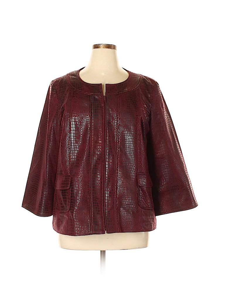 Susan Graver Women Jacket Size XL