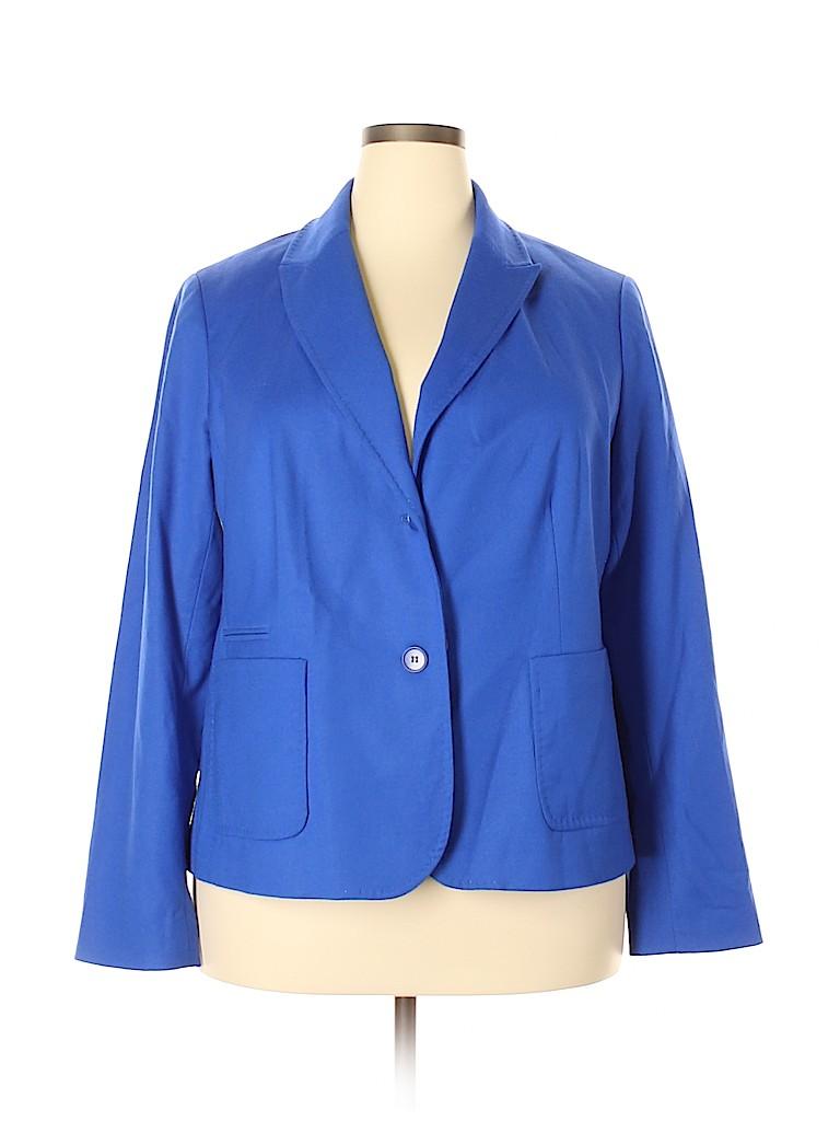 Talbots Women Wool Blazer Size 20 (Plus)
