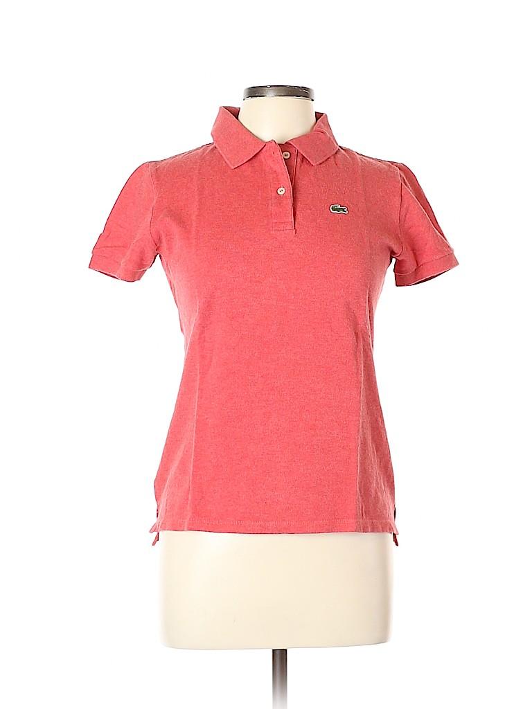Lacoste Women Short Sleeve Polo Size 42 (EU)