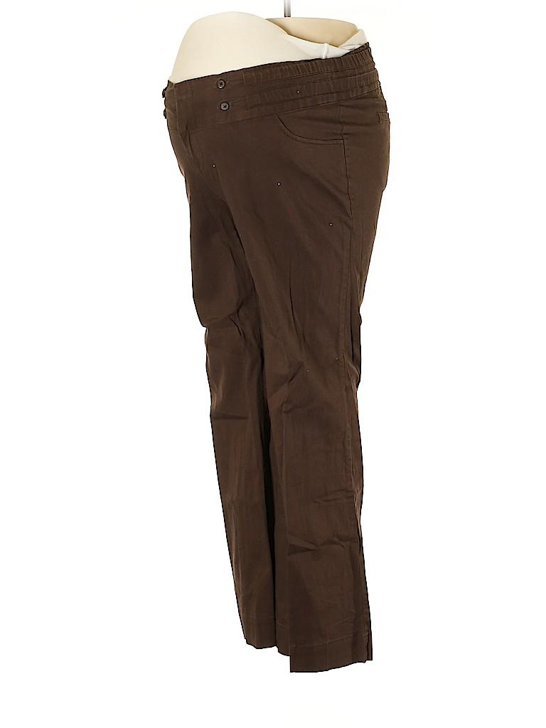 Old Navy Women Khakis Size 12 (Maternity)