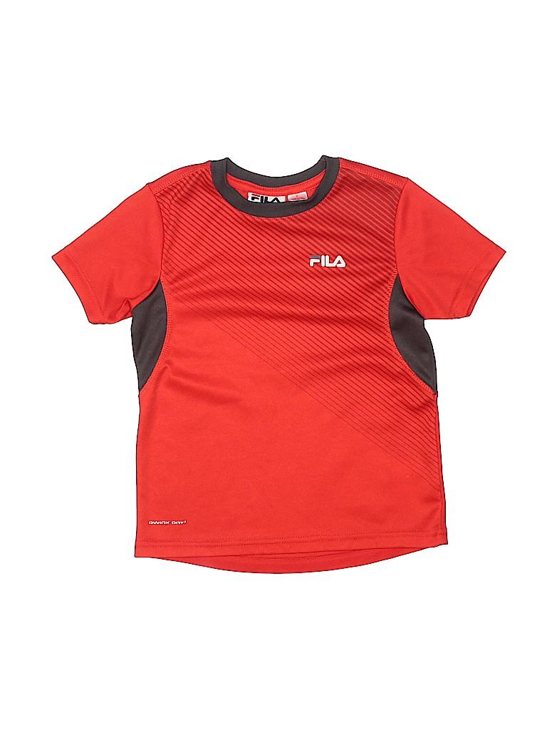 Fila Boys Short Sleeve T-Shirt Size 5T