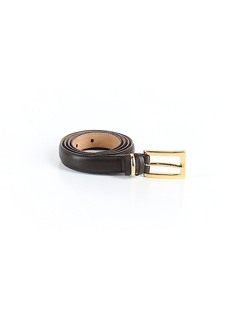Talbots Women Leather Belt Size M