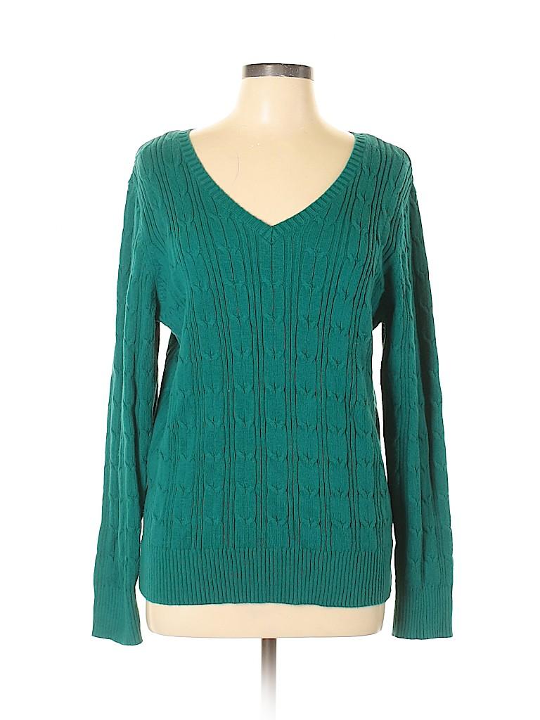 St. John's Bay Women Pullover Sweater Size XL