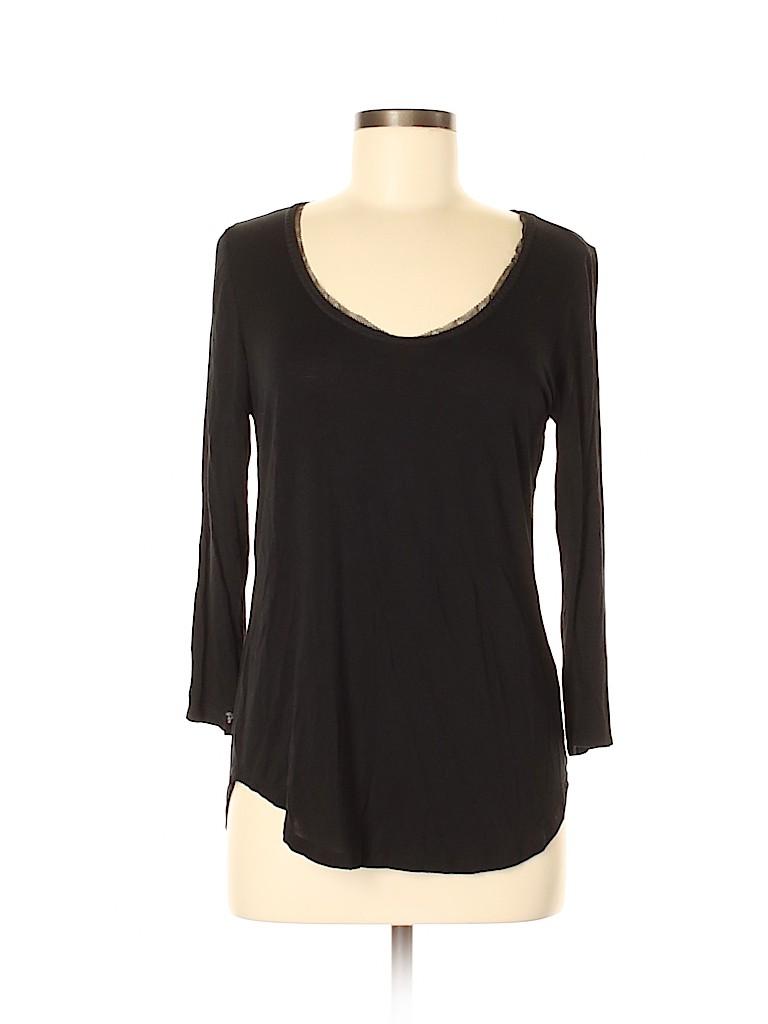 Bordeaux Women 3/4 Sleeve T-Shirt Size M