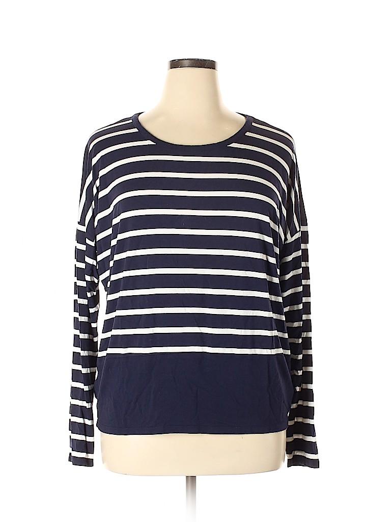 MICHAEL Michael Kors Women Long Sleeve Top Size XL