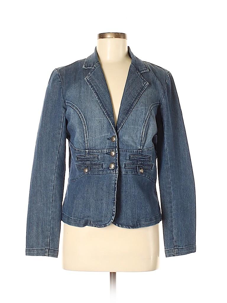 Fashion Bug Women Denim Jacket Size 8