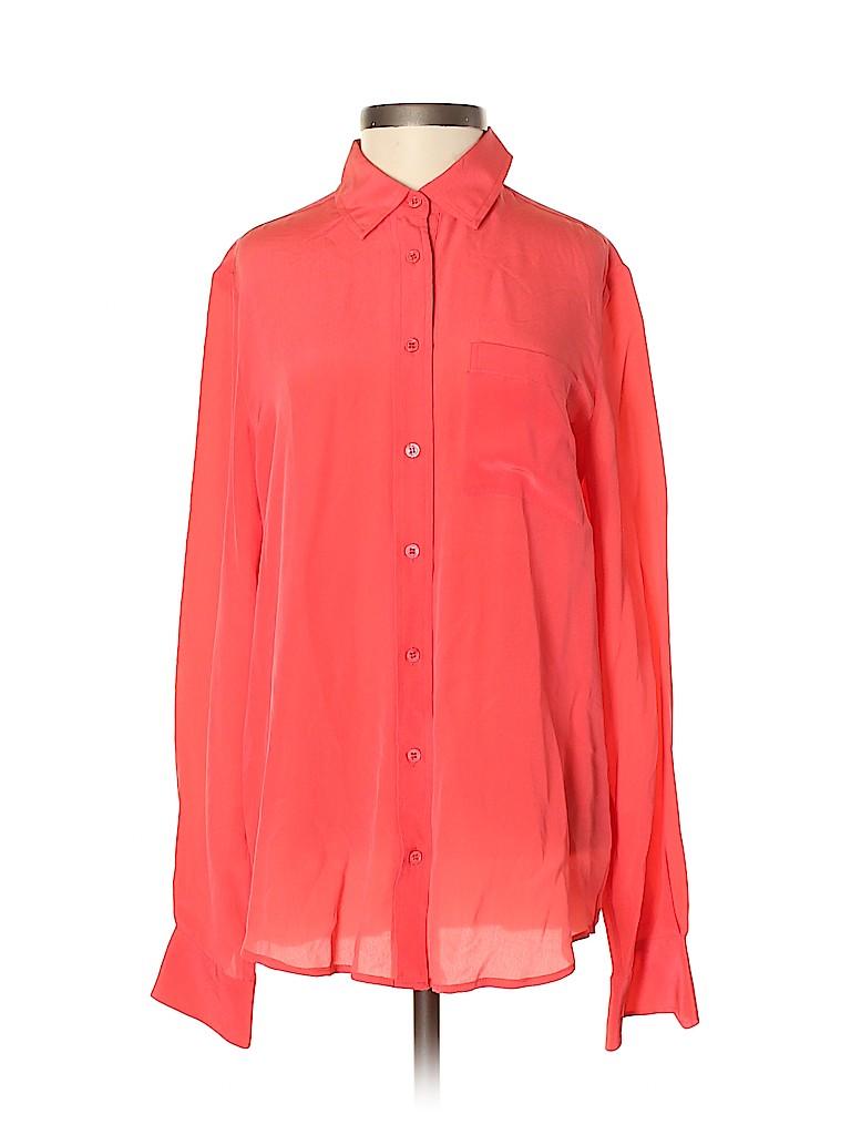 Joe Fresh Women Long Sleeve Blouse Size XS