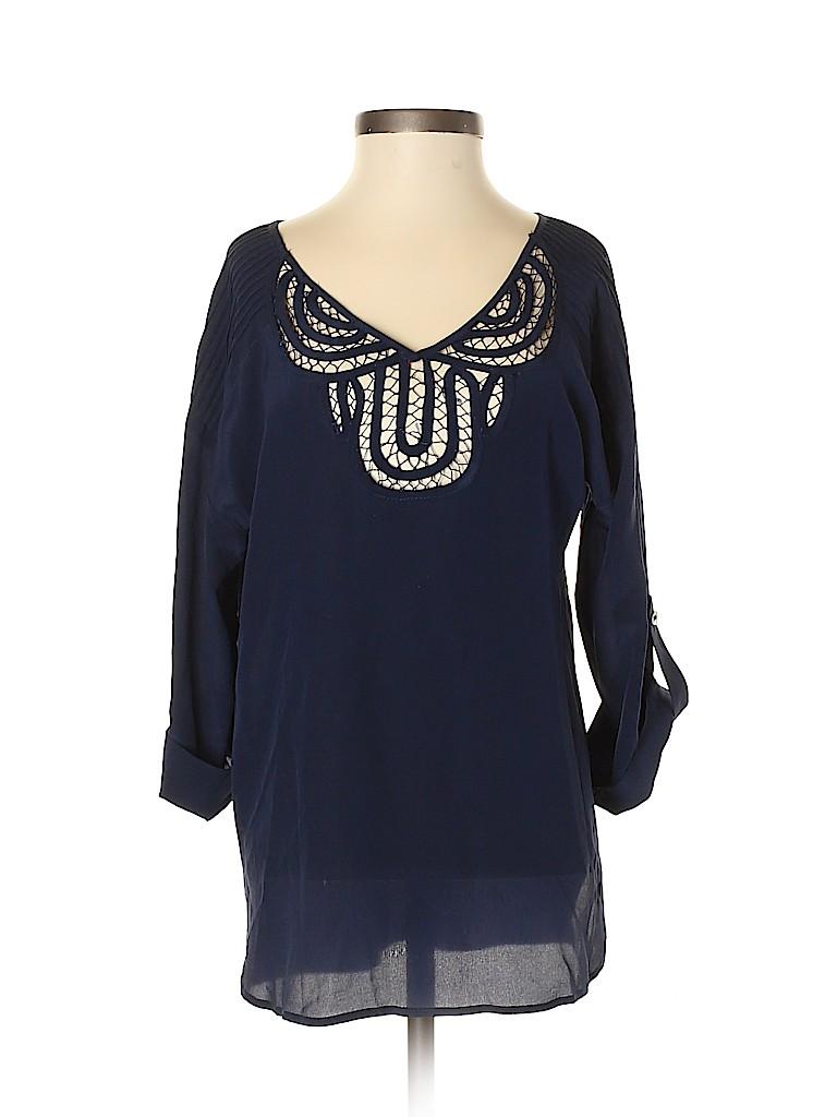 Rainn Women 3/4 Sleeve Blouse Size XS