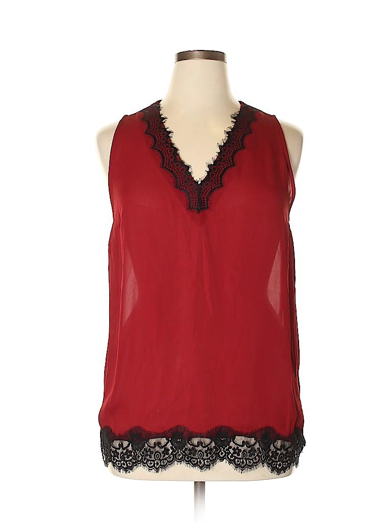 MICHAEL Michael Kors Women Sleeveless Blouse Size XL