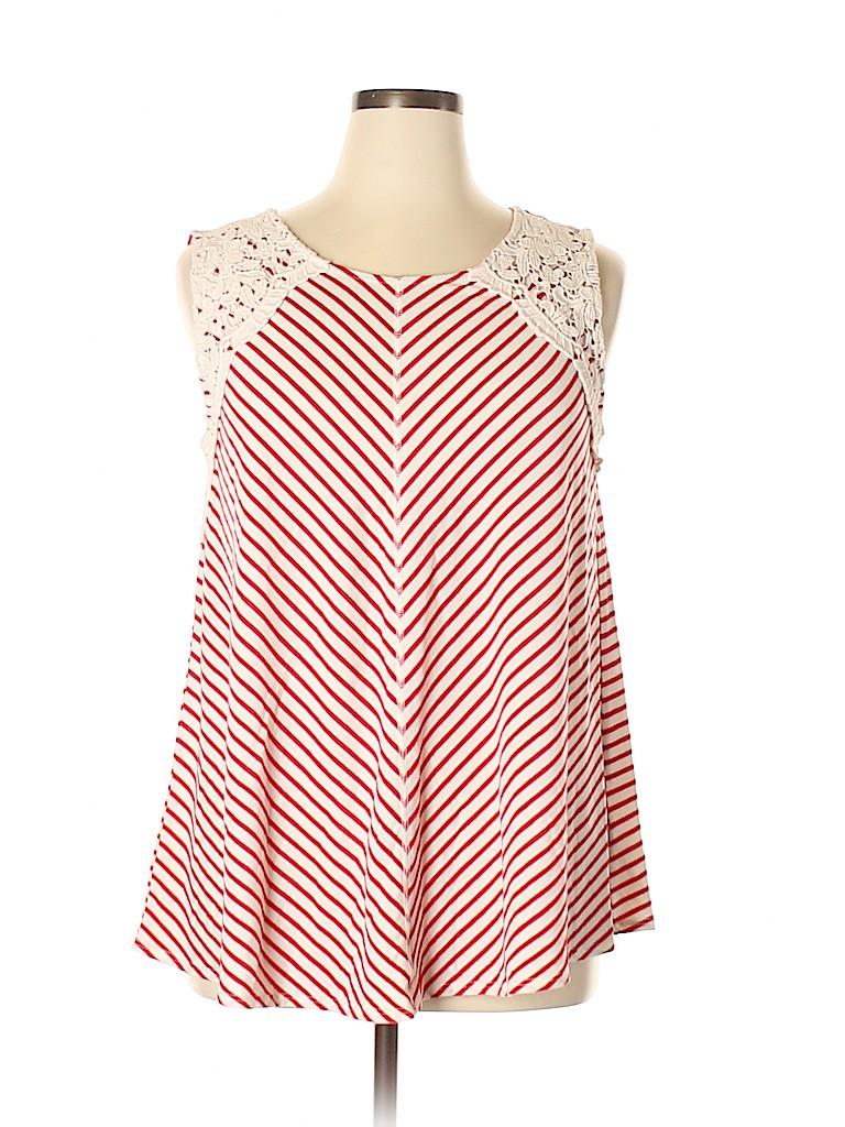 Style&Co Women Sleeveless Top Size XL