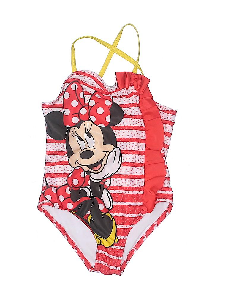 Disney Girls One Piece Swimsuit Size 6