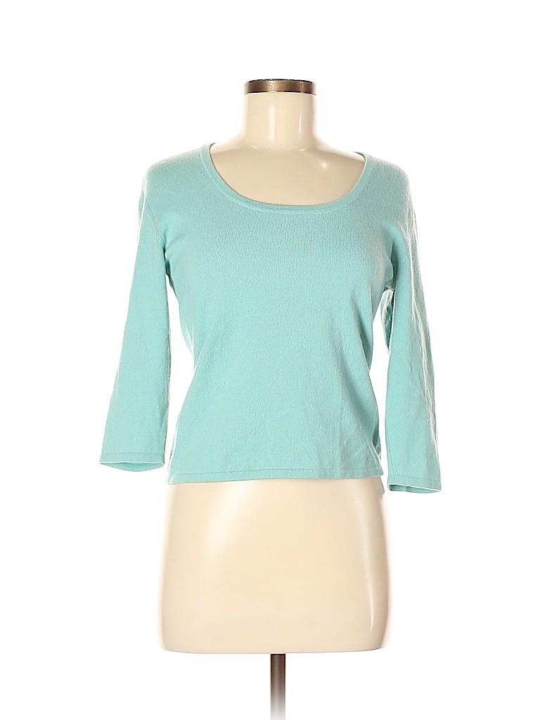 Autumn Cashmere Women Cashmere Pullover Sweater Size M