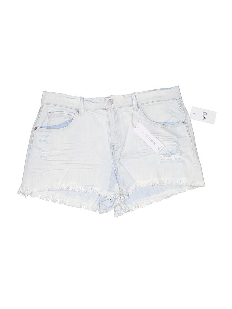 Rue21 Women Denim Shorts Size 12