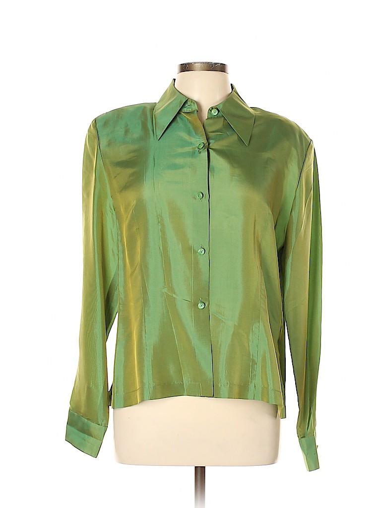 Carlisle Women Long Sleeve Blouse Size 12