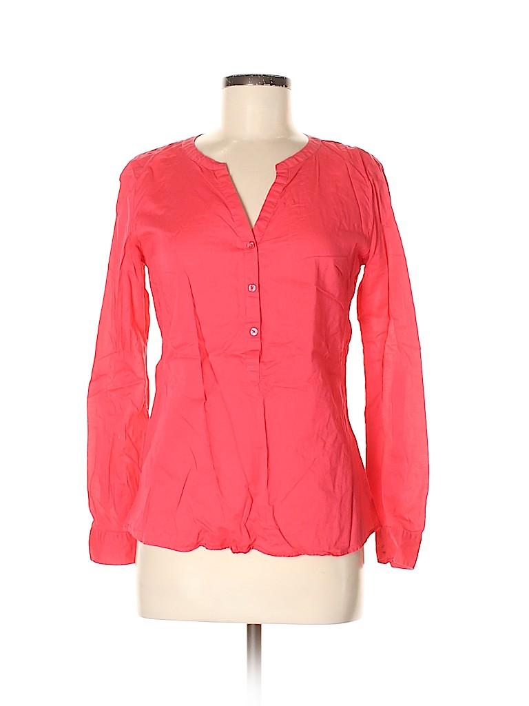 G.H. Bass & Co. Women Long Sleeve Blouse Size S