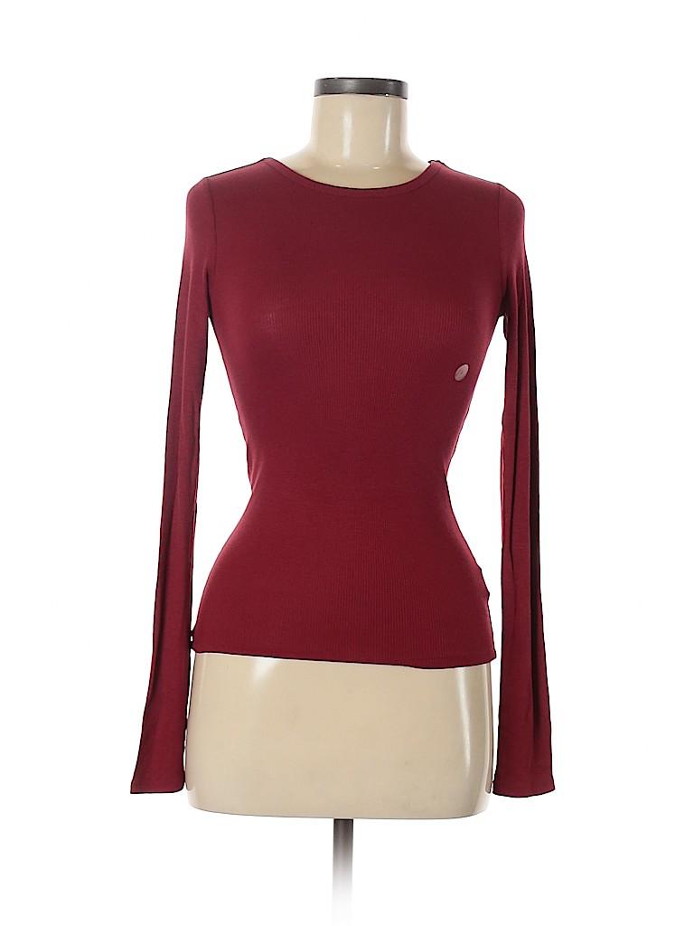 Prince & Fox Women Long Sleeve T-Shirt Size S