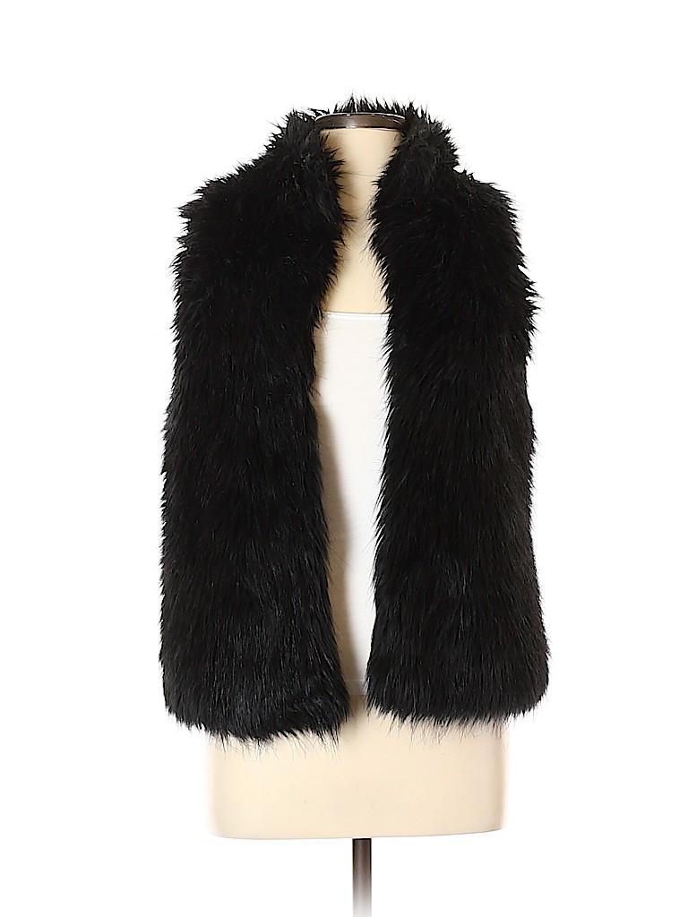 Kenar Women Faux Fur Vest Size M