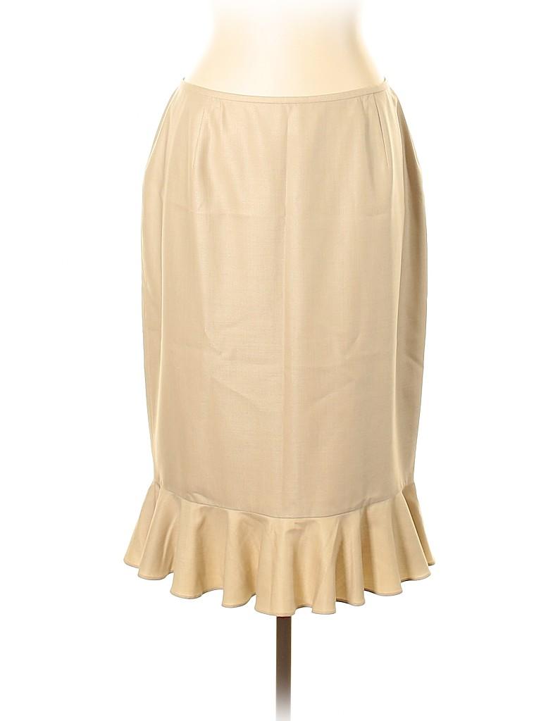 Lafayette 148 New York Women Wool Skirt Size 12