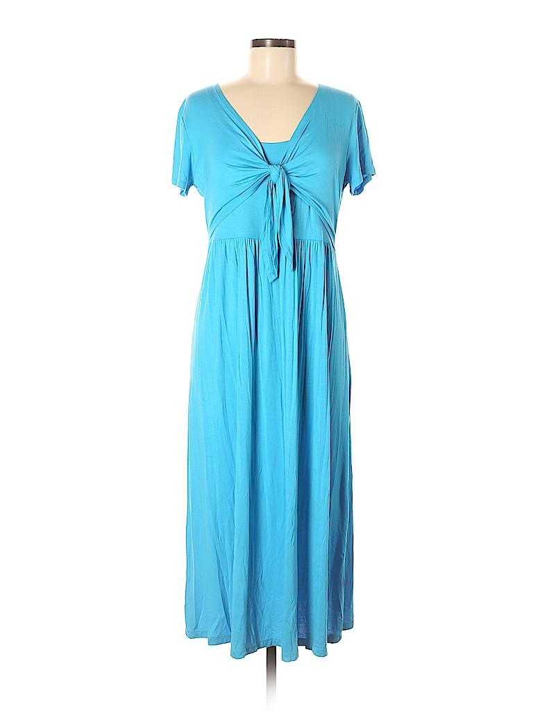 Jones New York Signature Women Casual Dress Size M