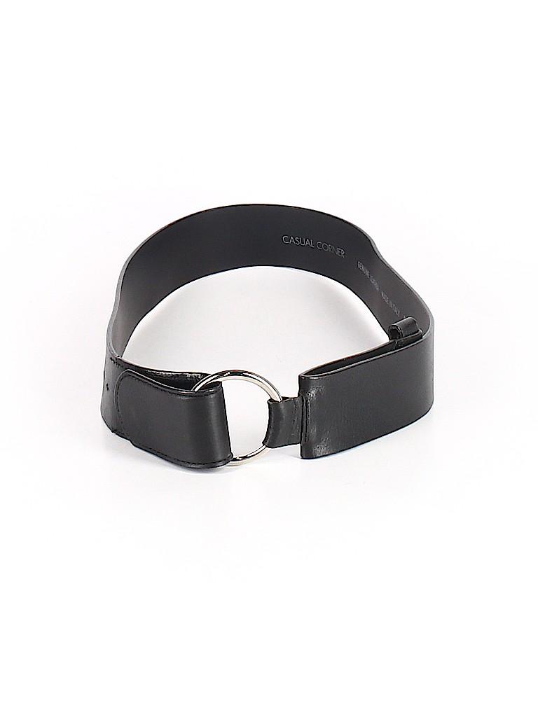 Casual Corner Women Leather Belt Size M