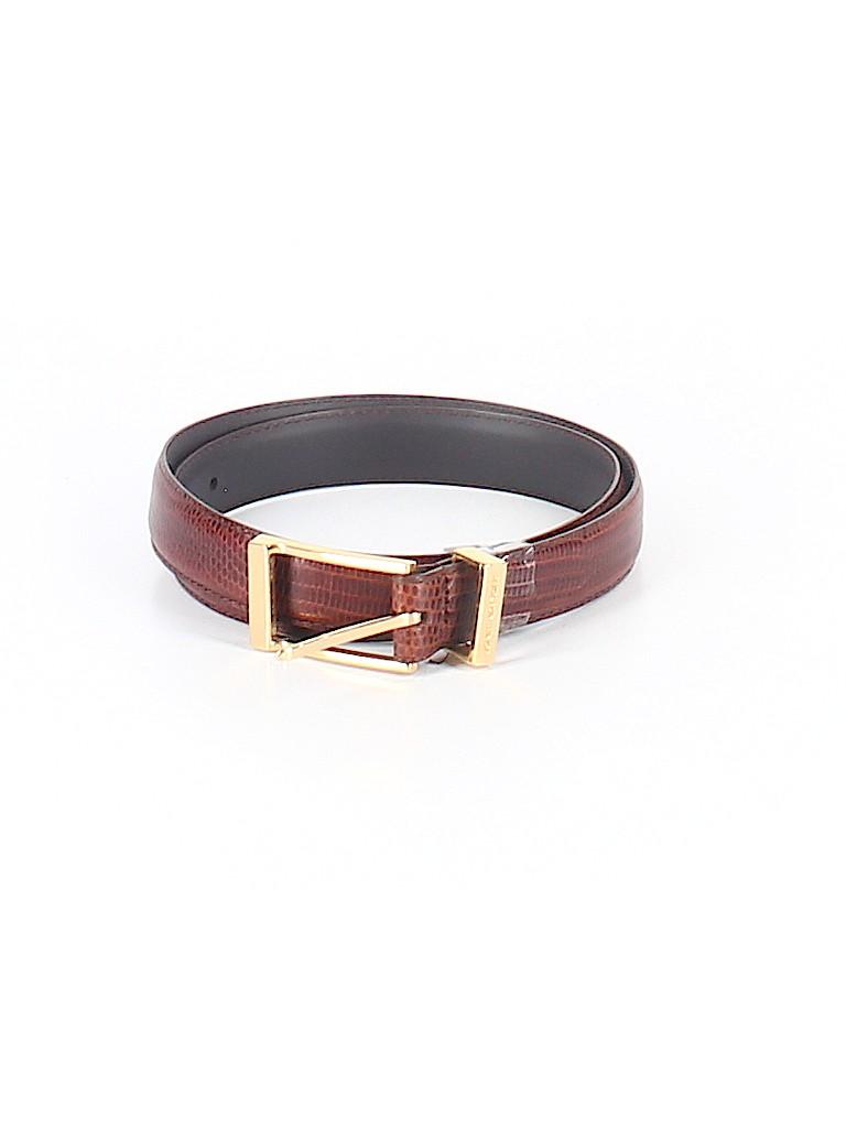 Jones New York Women Leather Belt Size L